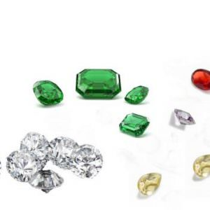 Qual è la quotazione dei gioielli con pietre preziose o diamanti?