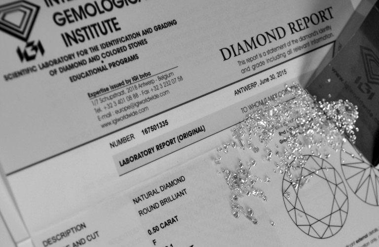 Vendere i diamanti certificati: cosa occorre sapere