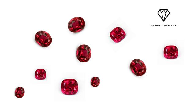 Da cosa viene determinato il costo dei rubini?