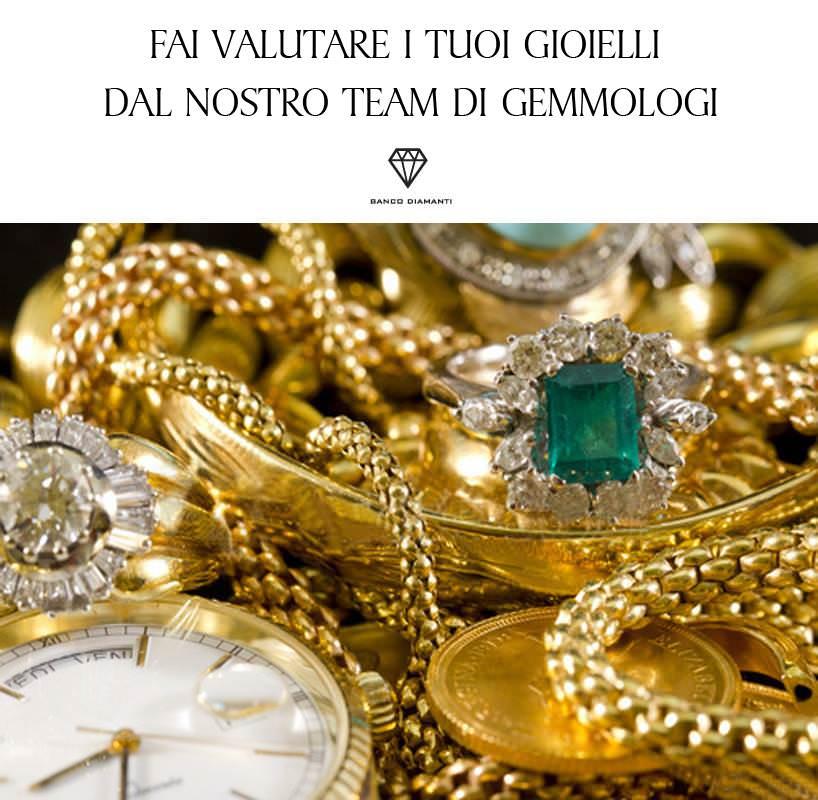 Gioielli in oro e diamanti: come avvengono le valutazioni e la vendita