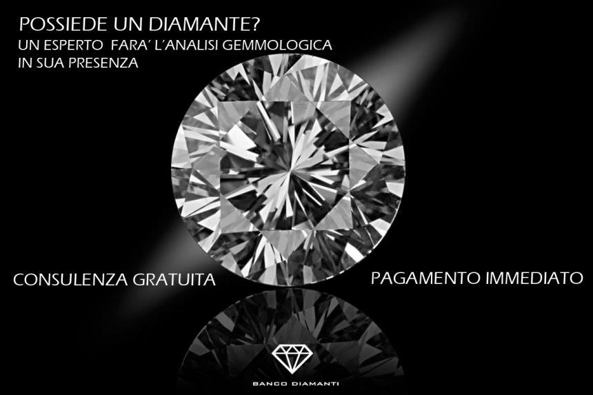Compro diamanti a Catania: serietà e professionalità di Banco Diamanti