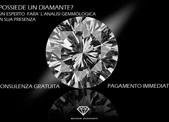 Compro diamanti Firenze: la parola agli esperti di Banco Diamanti